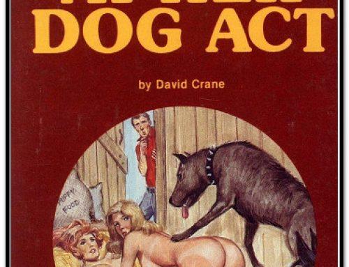 PB-268 A Peek At Her Dog Act
