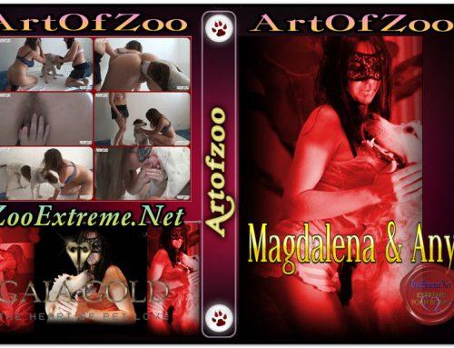 ArtOfZoo DVD – Magdalena & Anya – Hot Scenes Zoo Porn