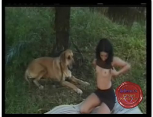 0166 — Blonde Brasil Girl W Dog, Screencaps