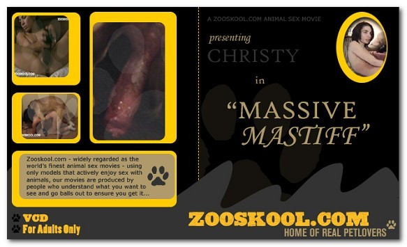 Home Of Real PetLover - Christy Massive Mastiff