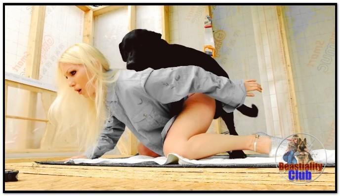 Jenny Simpson - Extreme Makeout Dog Sex