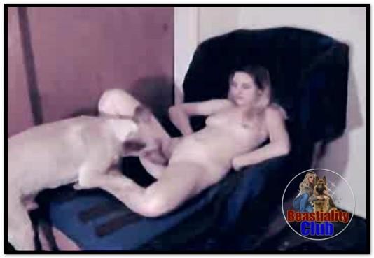 Amateur ZooSex - Girl Mounted