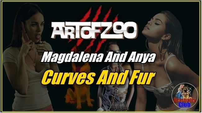 ArtOfZoo.Com - Magdalena And Anya - Curves And Fur