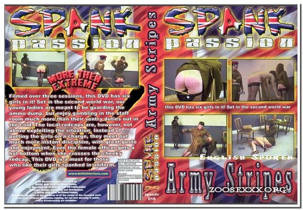 Spank Passion - Army Stripes