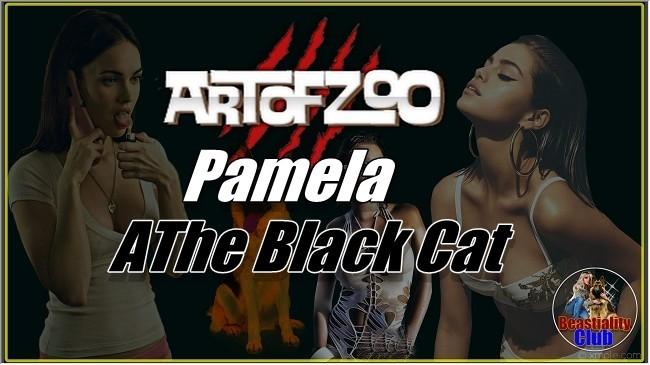 ArtOfZoo.Com - Pamela - The Black Cat