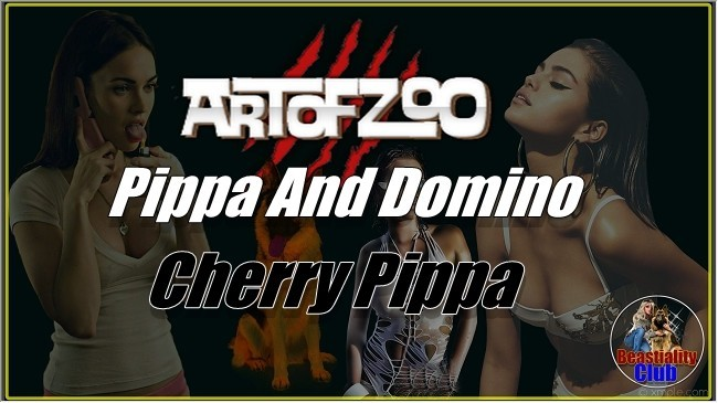 ArtOfZoo.Com - Pippa And Domino - Cherry Pippa