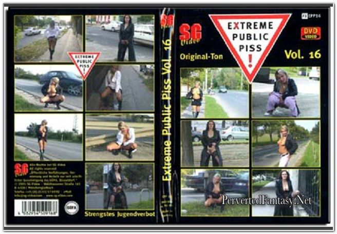 Extreme Public Piss - 16 - (SG-Video)
