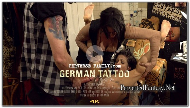 PerverseFamily.Com - German Tattoo