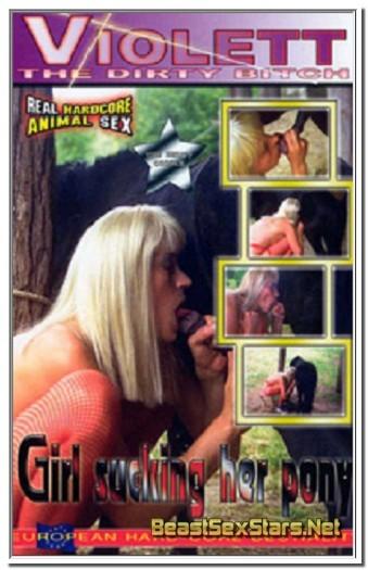Violett - Girl Sucking Her Pony