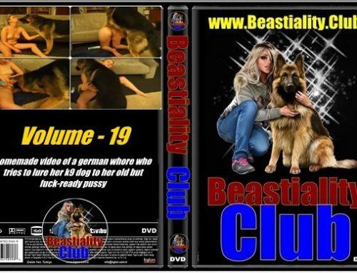 Beastiality Club Series – Volume – 19