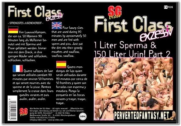 First Class No.26 - 1 Liter Sperma & 150 Liter Urin! Part 2