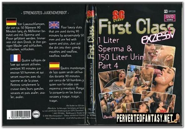 First Class No.29 - 1 Liter Sperma & 150 Liter Urin! Part 4