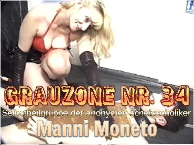 Grauzone Nr. 34 - Selbstheilgruppe der anonymen scheissoholiker - Manni Moneto