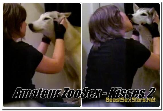 Amateur ZooSex - Kisses 2