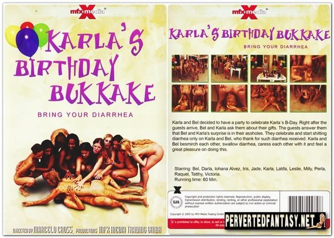 Karla's Birthday Bukkake - MFX Media