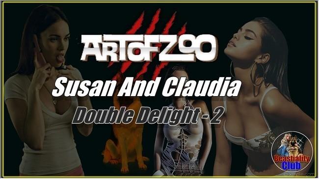 ArtOfZoo.Com - Susan And Claudia - Double Delight - 2