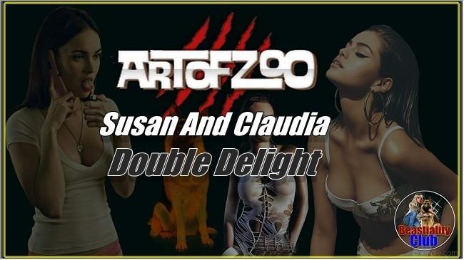 ArtOfZoo.Com - Susan And Claudia - Double Delight