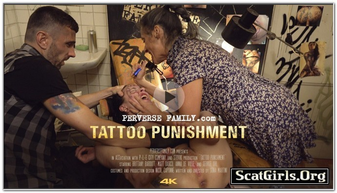 PerverseFamily.Com - Tattoo Punishment