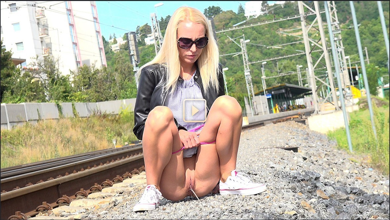 Railway Relief - Public Pissing