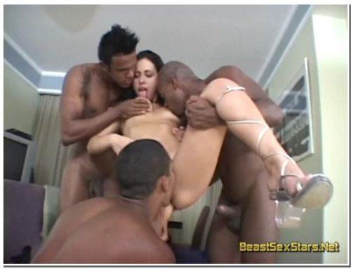 Monica Mattos – 3 Black Dicks