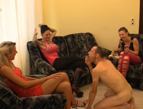 Extreme Scat Domination – Golden shower and Spitting slave