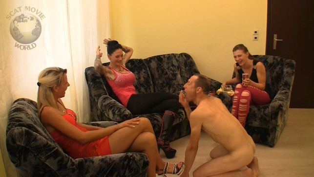 Extreme Scat Domination - Golden shower and Spitting slave