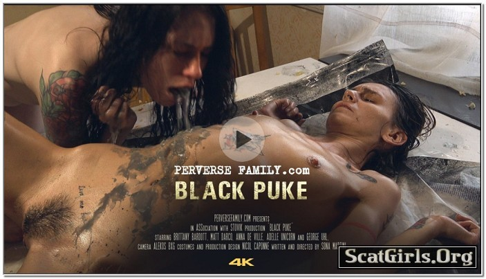 PerverseFamily.Com - Black Puke
