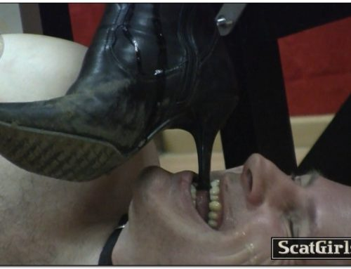 Extreme Scat Domination – My boots licker is hungry