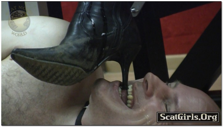 Extreme Scat Domination - My boots licker is hungry