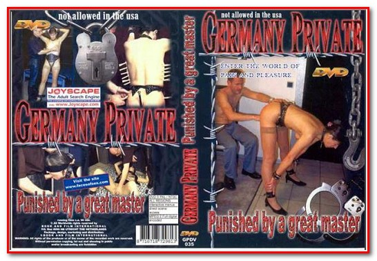 Germany Private - PUNISHED BY A GREAT MASTER