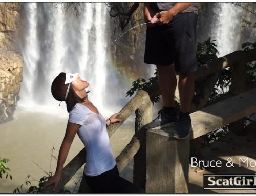 So Much Piss And Cum At The Waterfall – BruceAndMorgan