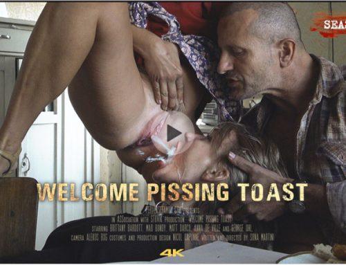 PerverseFamily.Com – Welcome Pissing Toast